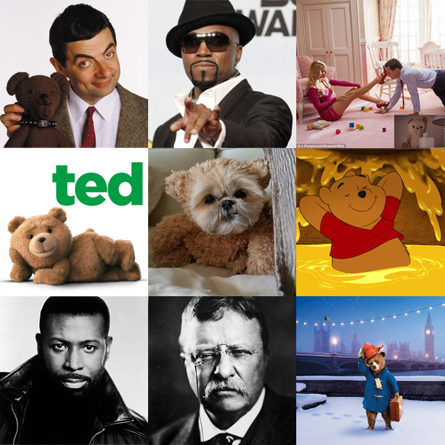 Famous Teddies and Teddy Bears