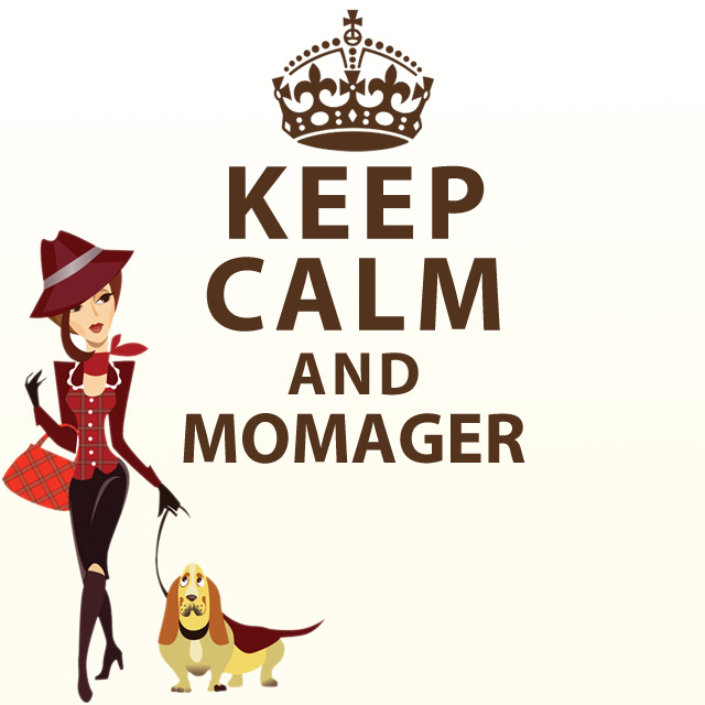 Keep Calm Momager